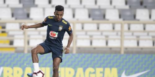 Rodrygo Goes akan menjalani debut bersama Timnas Brasil (Foto: CBF)