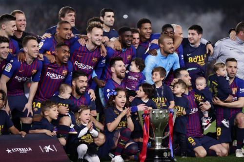 Barcelona merupakan pemenang terakhir Piala Super Spanyol dengan format lama (Foto: Associated Press/Manu Fernandez)