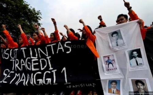 Tragedi Semanggi I (Foto: Okezone)