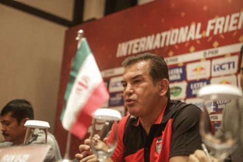 Hamid Estili berterima kasih kepada PSSI (Foto: PSSI)