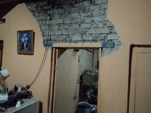 Bangunan rusak Foto: BNPB