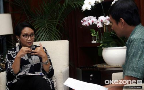 Menteri Luar Negeri Retno Marsudi. (Foto: Dok Okezone/Dede Kurniawan)