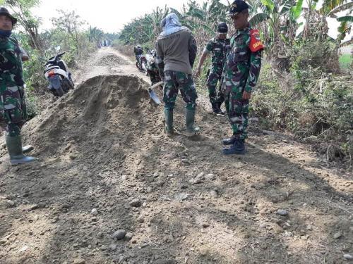 TMMD 2019 di Kampung Pengarengan Kabupaten Bekasi. (Foto: TNI)