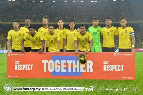 Suasana laga Malaysia vs Thailand