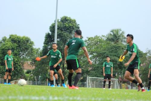 Timnas Indonesia berlatih di Lapangan Petaling Jaya (Foto: PSSI)