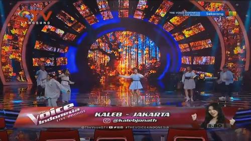 Kaleb The Voice Indonesia