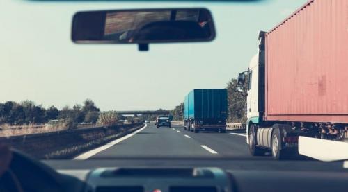 On truck