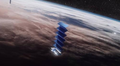 SpaceX telah meluncurkan 60 satelit 'Starlink' ke orbit rendah Bumi dari Stasiun Angkatan Udara Cape Canaveral, Florida.