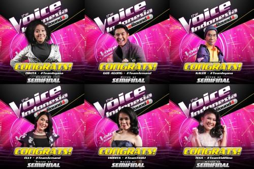 Semifinal The Voice Indonesia