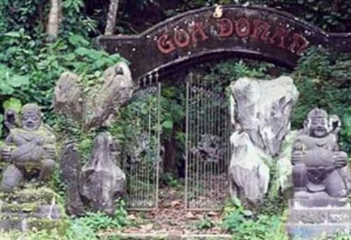 Goa Donan yang ada di Desa Tunggilis, Kecamatan Kalipucang, Kabupaten Pangandaran (foto: Okezone/Syamsul Maarif)
