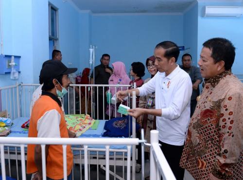Jokowi Sidak ke Lampung (Biro Pers Setpres)