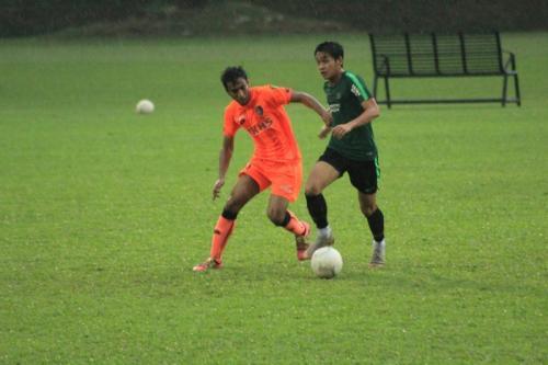 Timnas Indonesia berlatih tanding dengan PKNS (Foto: PSSI)