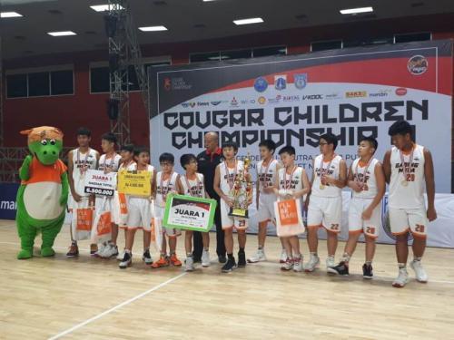 Cougar Basketball Jakarta. Andika Pratama/Okezone