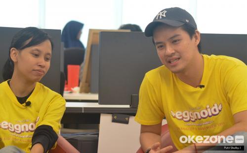 Morgan Oey dan produser Eggnoid, Nurita Anandia