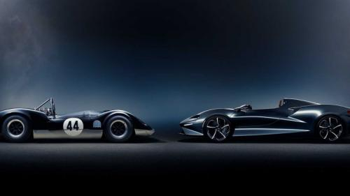 Supercar McLaren