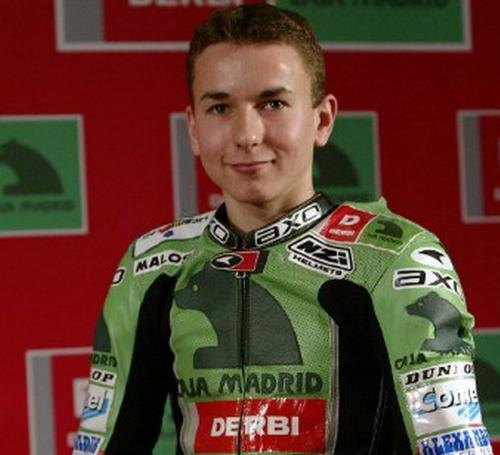 Jorge Lorenzo di 250 cc