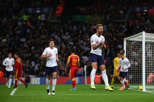 Timnas Inggris menang telak 7-0 atas Montenegro (Foto: UEFA)