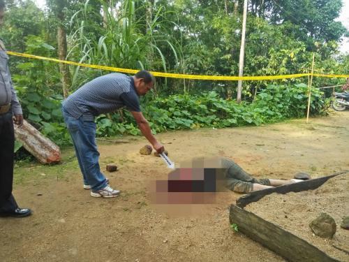 Lokasi pembunuhan Foto: Robert Fernando