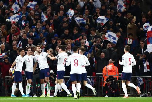 Timnas Inggris memastikan lolos ke Putaran Final Piala Eropa 2020 (Foto: Twitter/England)