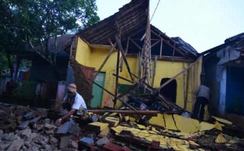 Gempa Banten Foto: Ist