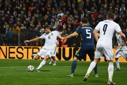 Timnas Italia menang telak 3-0 atas Bosnia Herzegovina (Foto: UEFA)
