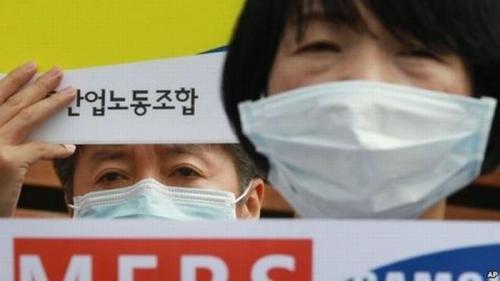 Ilustrasi Virus SARS (foto: AP)