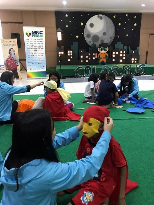 MNC Peduli di Cianjur (Foto : Okezone.com/Putra)