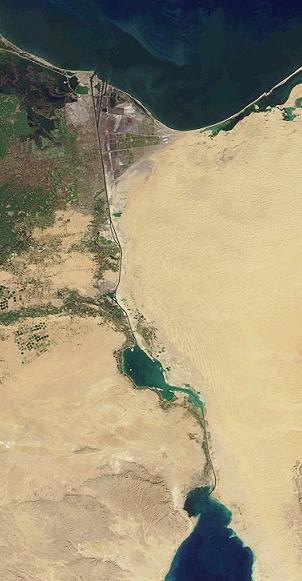 Terusan Suez (foto: Wikipedia)