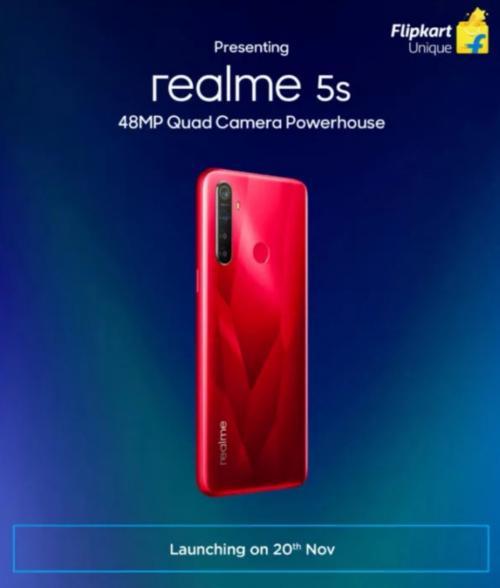 Realme Bakal Hadirkan Realme 5s, Hadir dengan Snapdragon 665