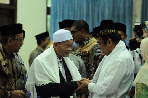 Menag di Aceh (Foto: Okezone/Windy)