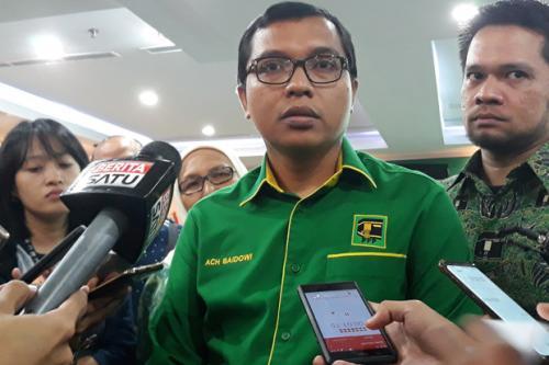 Wasekjen PPP Achmad Baidowi. (Foto : Sindonews.com/Rico Simanjuntak)