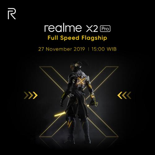 realme Konfirmasi Ponsel Flagship X2 Pro di Indonesia