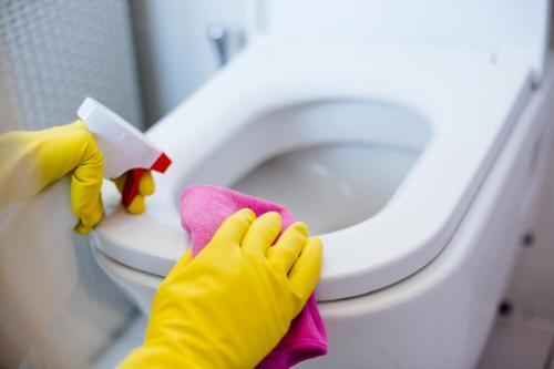 Bersihkan Toilet