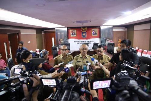 Dirjen Bina Pemerintah Desa Kemendagri, Nata Irawan. (Foto : Okezone.com/Fahreza Rizky)