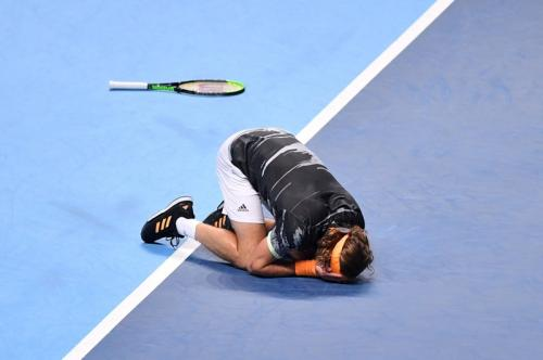 Suasana final ATP Finals 2019