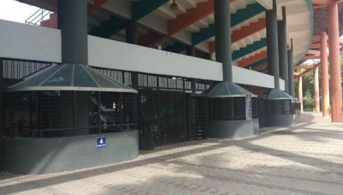 Stadion MBPJ menjadi lokasi penjualan tiket secara langsung sekaligus penukaran tiket (Foto: PSSI)