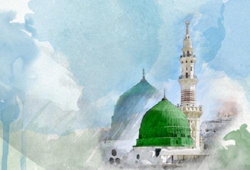 Cantiknya Masjid Nabi Muhammad
