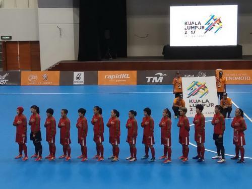 Kontingen Indonesia di cabor futsal putri