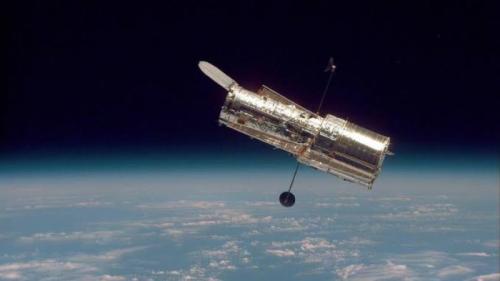 NASA dan European Space Agency berbagi gambar dari galaksi yang tidak biasa.