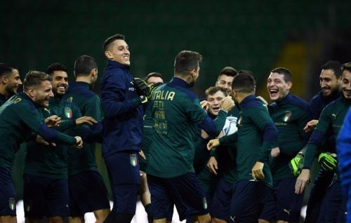 Timnas Italia menjadi unggulan di Grup A Piala Eropa 2020 (Foto: Twitter/Azzurri)