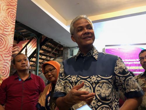 Gubernur Jawa Tengah Ganjar Pranowo (foto: Okezone)