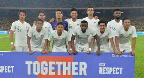 Timnas Indonesia (Foto: Twitter/@FAM_Malaysia)