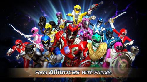 Power Rangers: Legancy Wars merupakan game mobile 2017 untuk platform iOS dan Android.