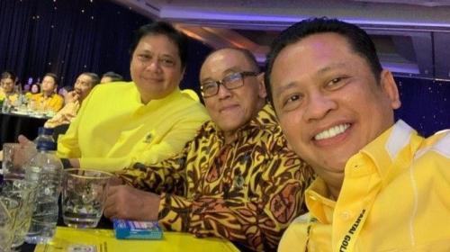 Airlangga, Bamsoet, dan Aburizal Bakrie (dok. iNews)