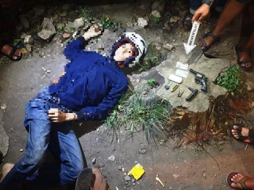 Pelaku Curanmor Berpistol di Depok yang Ditembak Mati Polisi (foto: Okezone/Ist)