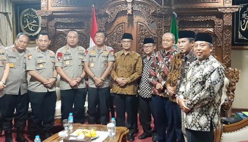 Kapolri bertemu PP Muhammadiyah Foto: Fahreza