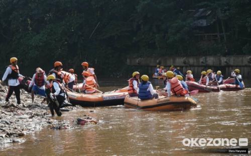 Sungai Ciliwung. (Foto: Dok Okezone/Heru Haryono)