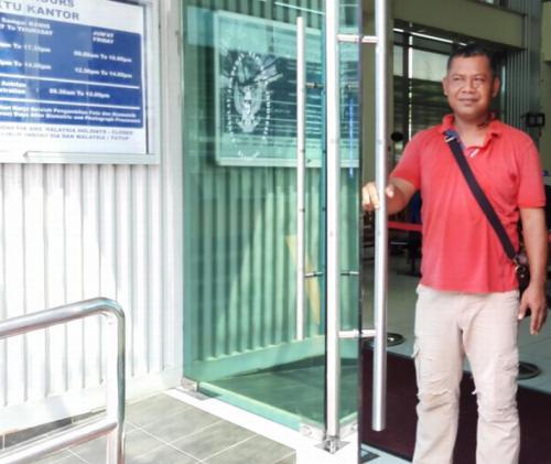 Kisah Lulusan SD Asal Lamongan yang Sukses di Malaysia (foto: Okezone/Ade Putra)