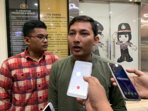 Sultan Rivandi, Ketua Dema UIN Jakarta Terkait Kasus Mahasiswi UIN Tewas Terlindas Truk di Tangsel (foto: Okezone/Hambali)