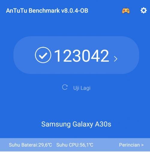 Menjajal Samsung A30s dengan Fitur Triple Camera dan NFC